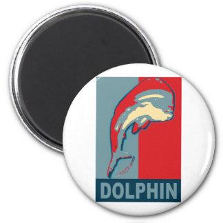 Fishing for Dolphin, Dorado, MahiMahi 6 Cm Round Magnet