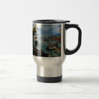 Fishing for Souls by Adriaen van de Venne Travel Mug