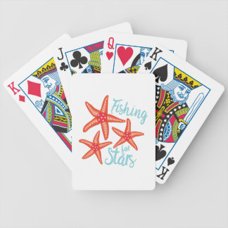 Fishing For Stars Bicycle Playing Cards