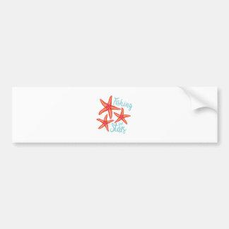 Fishing For Stars Bumper Sticker
