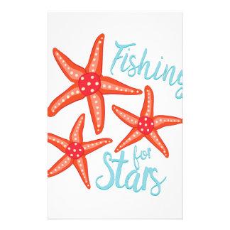 Fishing For Stars Custom Stationery
