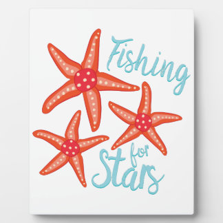 Fishing For Stars Plaque