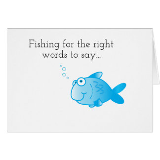 Fishing for Words Card