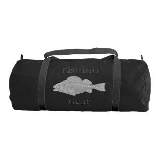 Fishing Gear Gray Fish Gym Bag