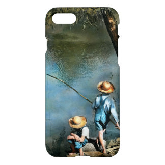 Fishing - Gone Fishin' - 1940 iPhone 7 Case