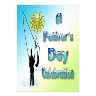 Fishing - Happy Father's Day Invitation