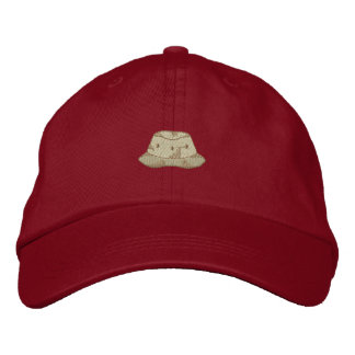 Fishing Hat Embroidered Cap