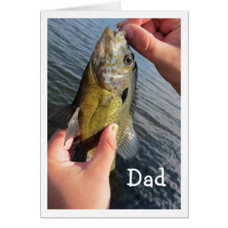 Fishing Humor for Dad's Birthday to Customize Card