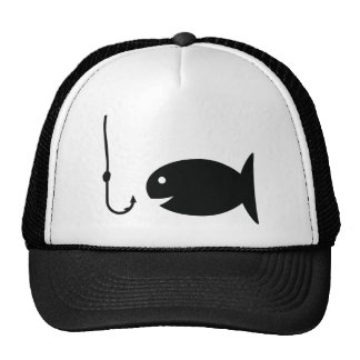fishing icon cap