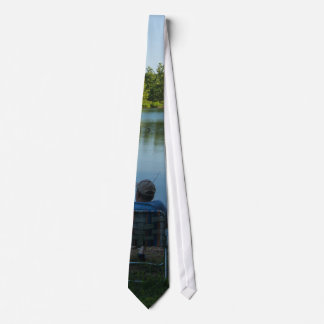 Fishing In The Morning Tie