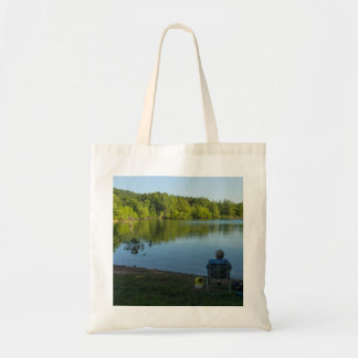 Fishing In The Morning Tote Bag