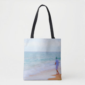 Fishing in the Ocean Tote