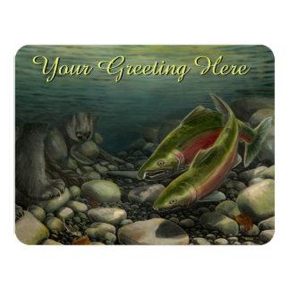 Fishing Invitations Personalized Wildlife Art RSVP