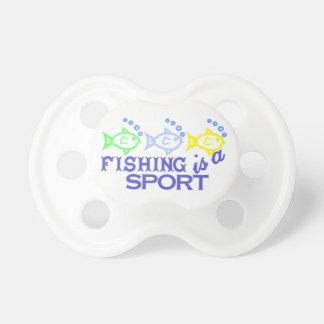 Fishing Is A Sport Pacifier