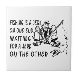 Fishing Jerk Tile