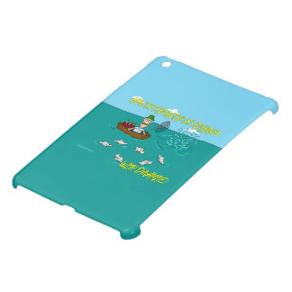 Fishing joke with dynamite cover for the iPad mini