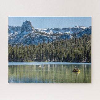 Fishing Lake Mamie, Mammoth Lakes Jigsaw Puzzle