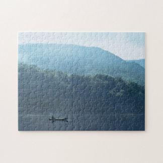 Fishing Lake White Mountains New Hampshire Puzzle
