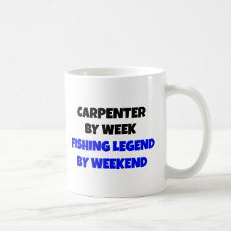 Fishing Legend Carpenter Coffee Mug
