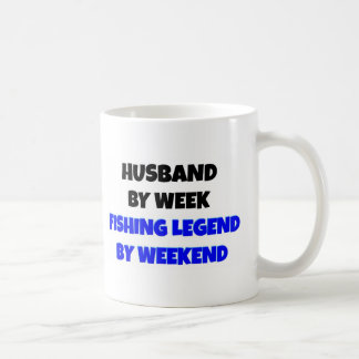 Fishing Legend Husband Coffee Mug