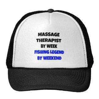 Fishing Legend Massage Therapist Cap