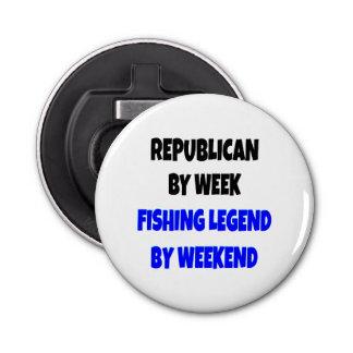 Fishing Legend Republican Bottle Opener