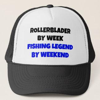 Fishing Legend Rollerblader Trucker Hat