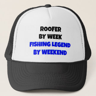 Fishing Legend Roofer Trucker Hat