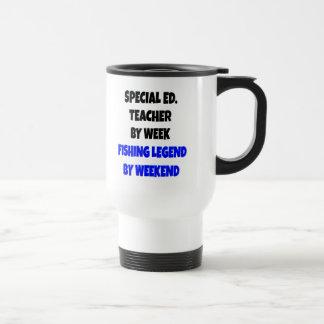 Fishing Legend Special Education Teacher Travel Mug