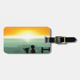Fishing Luggage Tag