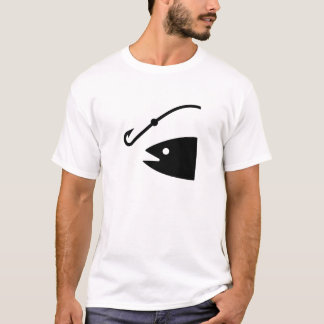 Fishing Lure Pictogram T-Shirt
