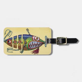 Fishing Lure Travel Luggage Tag, Luggage Tag