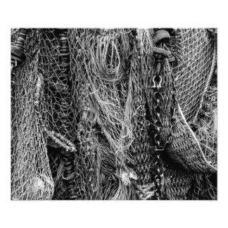 Fishing Nets Photo Print