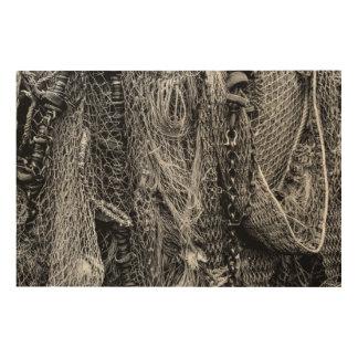 Fishing Nets Wood Wall Art