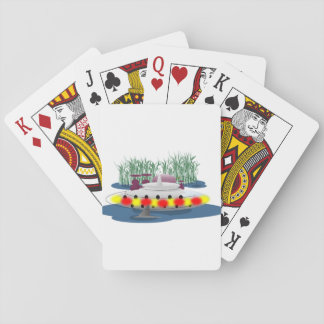 Fishing, or being fished? playing cards