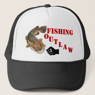 FISHING OUTLAW TRUCKER HAT