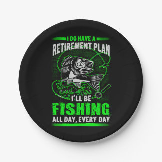 Fishing Paper Plate