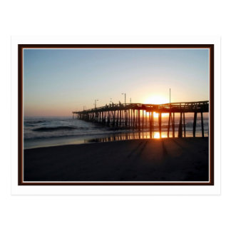 Fishing Pier Aglow Post Cards