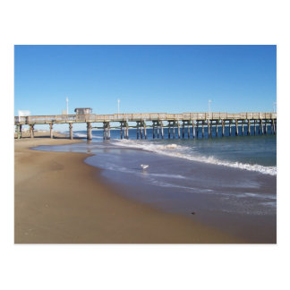 Fishing Pier at Sandbridge, VA. Postcard