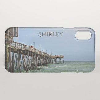 Fishing Pier by Shirley Taylor iPhone X Case