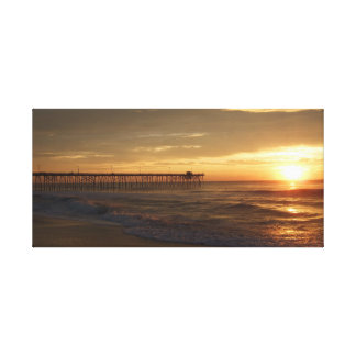 Fishing Pier Outer Banks Canvas Print