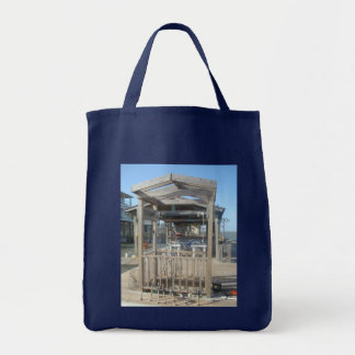 Fishing Poles Grocery Tote Bag