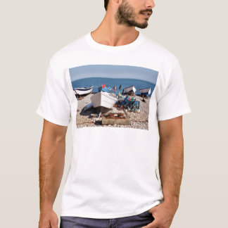 Fishing port of Yport in France T-Shirt