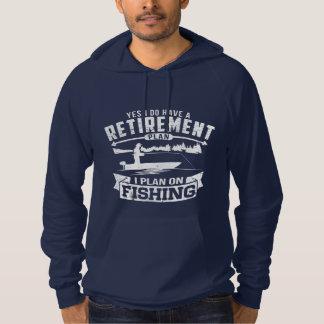 Fishing Retirement Hoodie