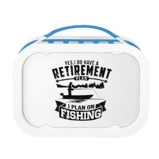 Fishing Retirement Lunch Box