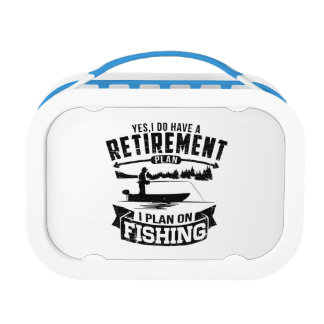 Fishing Retirement Lunchbox