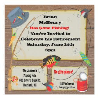 Fishing invitations 10 000 fishing invites announcements for Fishing birthday invitations