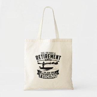Fishing Retirement Tote Bag