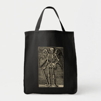 Fishing rod OF Death - Bichrome Grocery Tote Bag