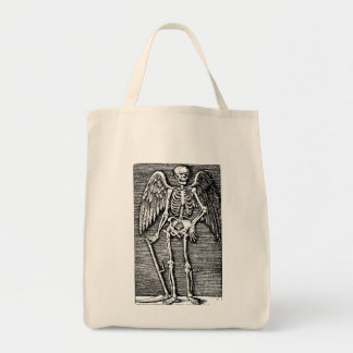 Fishing rod OF Death Grocery Tote Bag